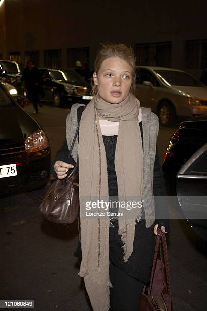 Melanie Thierry during Auction of Grace Kelly Photographs for The Princess Grace of Monaco Foundation in Paris November 29 2006 at Galerie 75...