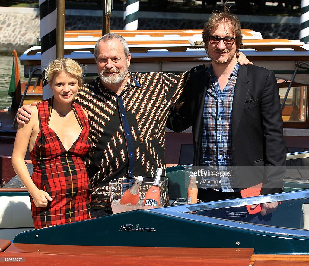 Melanie Thierry Terry Gilliam and David Thewlis attend day 6 of the 70th Venice International Film Festival on September 2 2013 in Venice Italy
