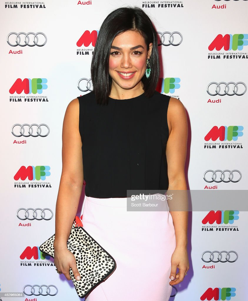 Melanie Vallejo attends the opening night of the 63rd Melbourne International Film Festival at Hamer Hall on July 31, 2014 in Melbourne, Australia.