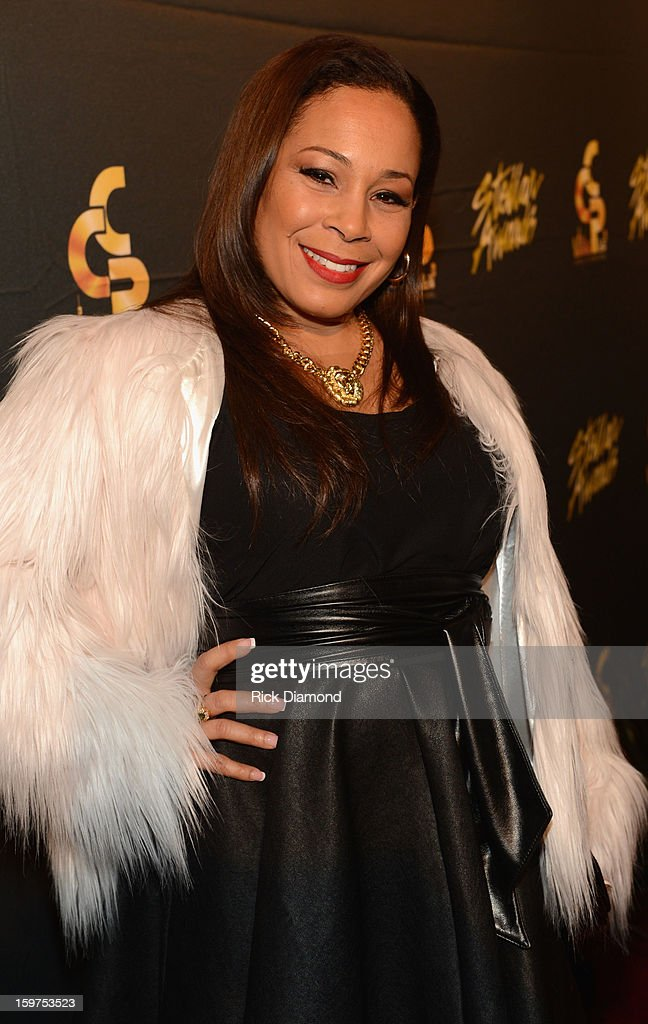 Melanie Winston arrives to the 28th Annual Stellar Awards Red Carpet at Grand Ole Opry House on January 19, 2013 in Nashville, Tennessee.