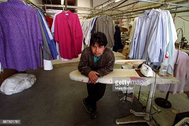 MELaundryWait040798MB–––David Gonzales had worked for Western Laundry Services in Garden Grove for two years but tuesday morning he was wondering...