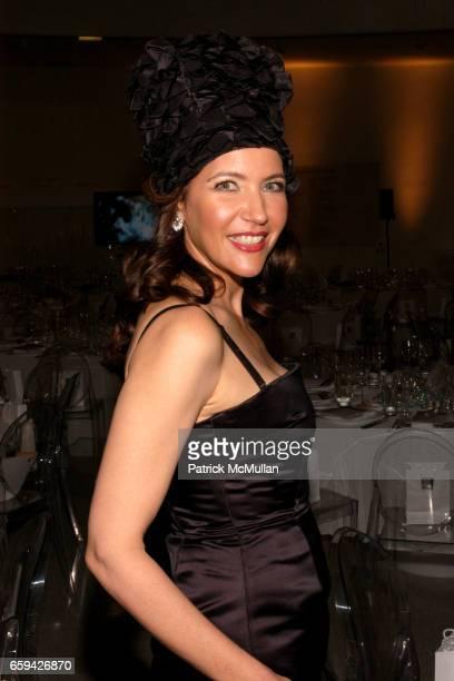 Melba Ruffo Di Calabria attends 2009 Guggenheim International Gala at Guggenheim Museum on September 16 2009 in New York City
