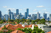 Skyline / cityscape view of Melbourne, Australia