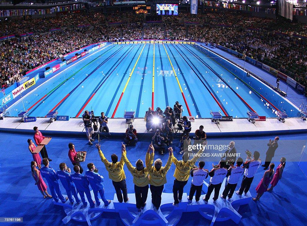 12th fina world championship 2007 melbourne australia: