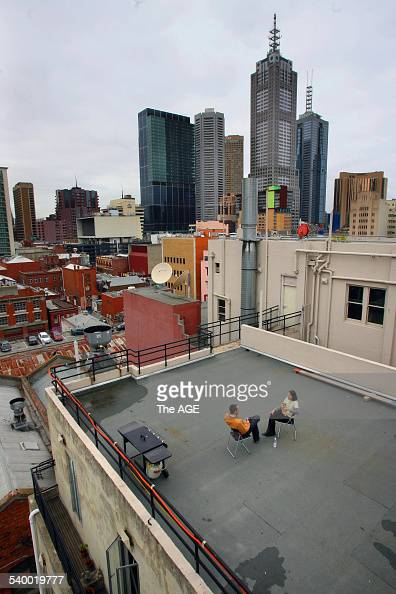 Melbourne CBD rooftop at Curtain House Swanston street 16 June ...