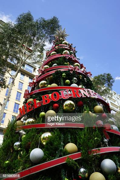 Summer Christmas Pictures Getty Images Trees Melbourne