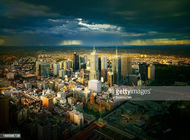 Melbourne City After Strom