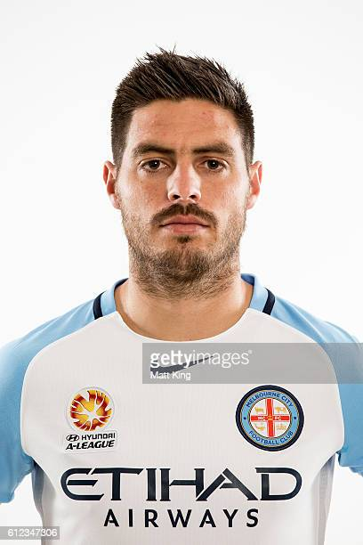 Melbourne City captain Bruno Fornaroli poses during the 2016/17 ALeague Season Launch at ANZ Stadium on October 4 2016 in Sydney Australia