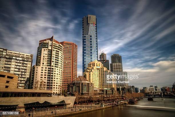 Melbourne city centre Eureka tower