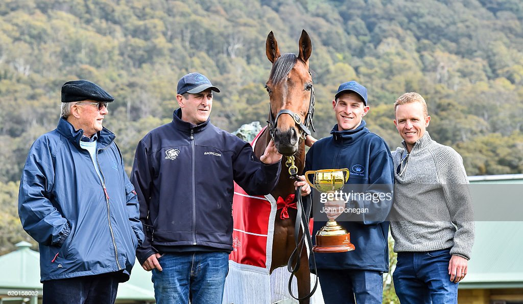 Melbourne Cup Winner Almandin : News Photo