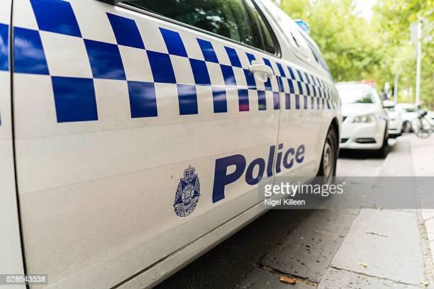 Melbourne Police Car