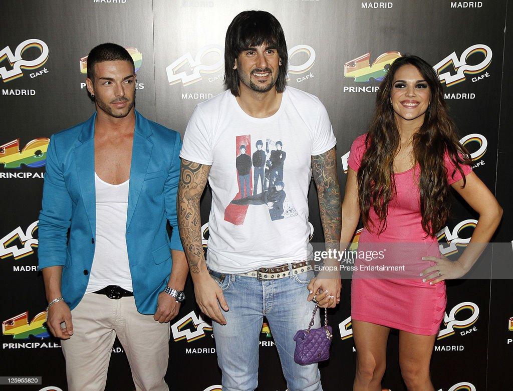 Melendi attends '40 Cafe' Opening on September 21 2011 in Madrid Spain