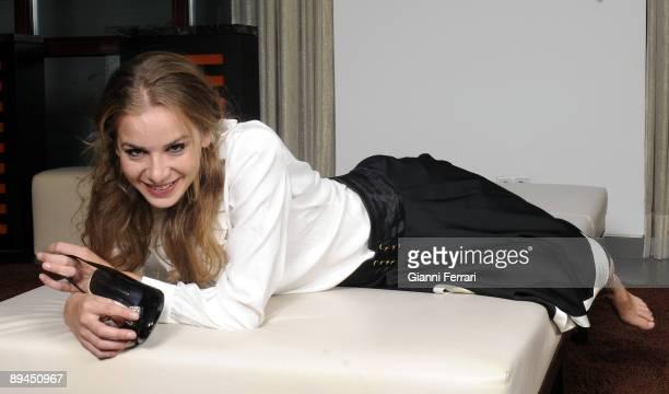 Melia Hotel Madrid Spain Portrait of the actress Merce Llorens