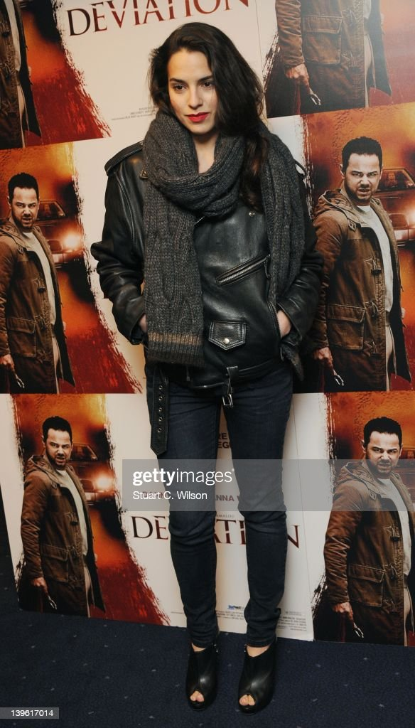 Melia Kreilling attends the Deviation World Premiere at Odeon Covent Garden on February 23, 2012 in London, England.
