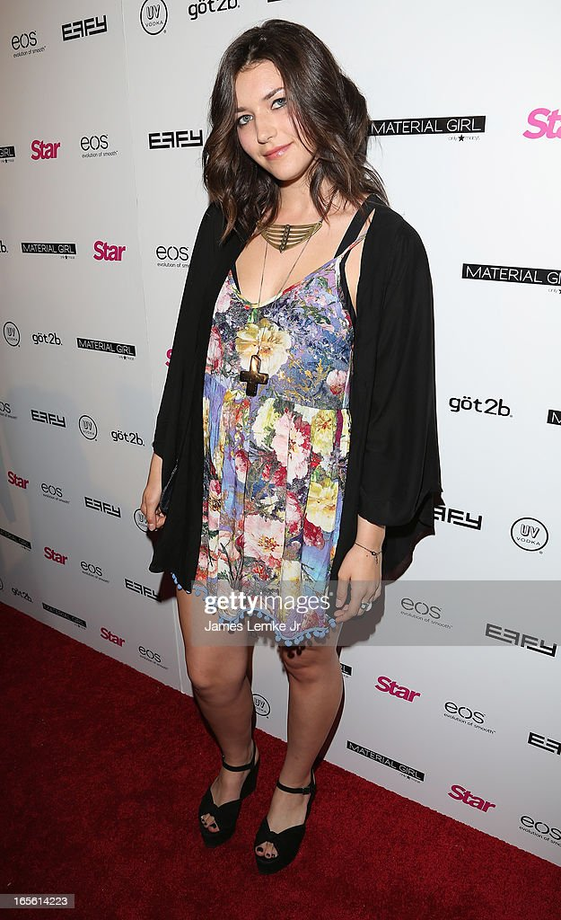 Melia Renee attends the Star Magazine's 'Hollywood Rocks' Party held at the Playhouse Hollywood on April 4, 2013 in Los Angeles, California.