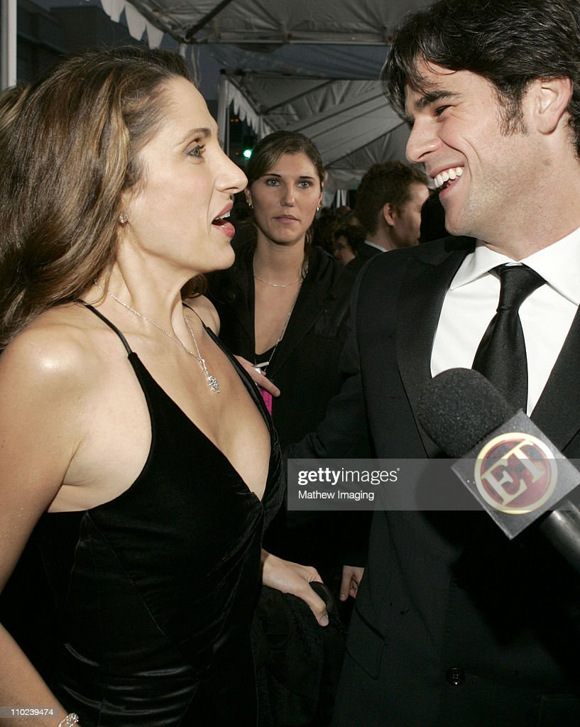 <a gi-track='captionPersonalityLinkClicked' href=/galleries/search?phrase=Melina+Kanakaredes&family=editorial&specificpeople=209194 ng-click='$event.stopPropagation()'>Melina Kanakaredes</a> and <a gi-track='captionPersonalityLinkClicked' href=/galleries/search?phrase=Eddie+Cahill&family=editorial&specificpeople=226945 ng-click='$event.stopPropagation()'>Eddie Cahill</a> during 31st Annual People's Choice Awards - E.T. and The Insider - Arrivals at Pasadena Civic Auditorium in Pasadena, California, United States.