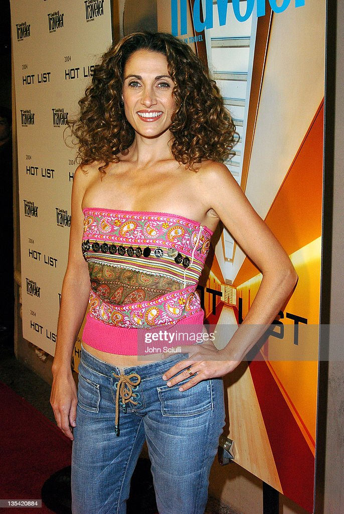 Melina Kanakaredes during Conde Nast Traveler Hot Nights Los Angeles ...