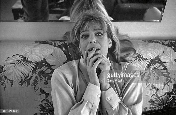 Melina Mercouri posing for a photo on December 15 1967 in New York New York