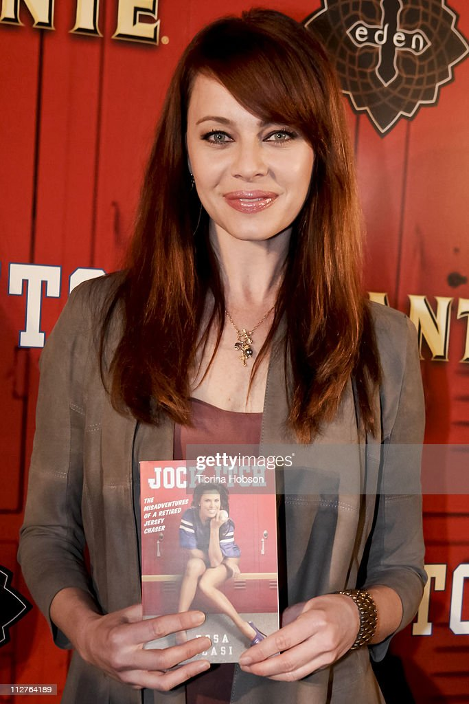 Melinda Clarke arrives to the 'Jock Itch' Book Release Party at Eden on April 20, 2011 in Hollywood, California.