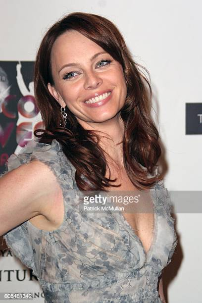 Melinda Clarke attends 13th Annual Race to Erase MS Sponsored by Nancy Davis and Tommy Hilfiger Arrivals at Hyatt Regency Century Plaza on May 12...