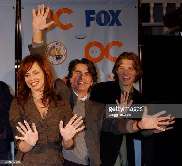 Melinda Clarke Peter Gallagher and Michael Cassidy