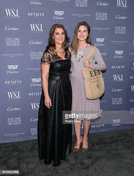 Melinda Gates and Lauren Bush Lauren attend the WSJ Magazine Innovator Awards at Museum of Modern Art on November 2 2016 in New York City