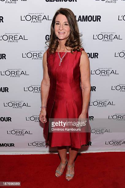 Melinda Gates attends Glamour's 23rd annual Women of the Year awards on November 11 2013 in New York City
