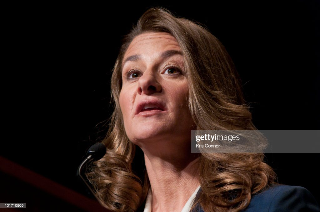 Melinda Gates speaks during a luncheon during the 2010 Women Deliver Conference at The Walter E Washington Convention Center on June 7 2010 in...