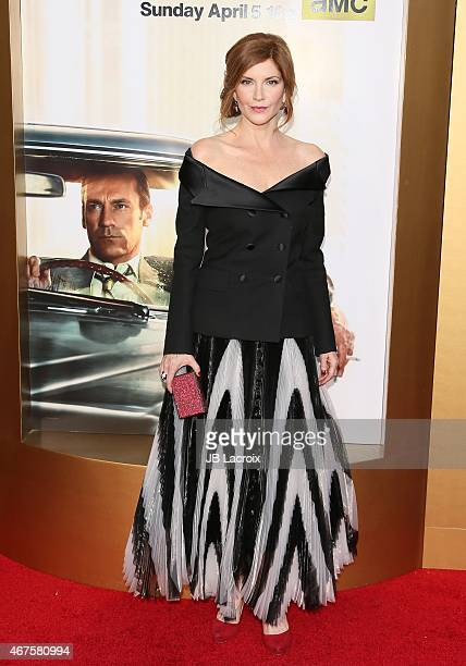 Melinda McGraw attends the AMC celebration of the final 7 episodes of 'Mad Men' with the Black Red Ball at the Dorothy Chandler Pavilion on March 25...