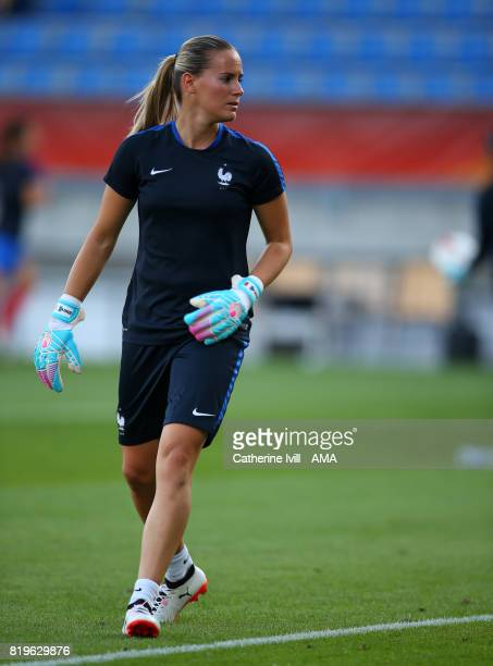 Meline Gerard of France during the UEFA Women's Euro 2017 match between France and Iceland at Koning Willem II Stadium on July 18 2017 in Tilburg...