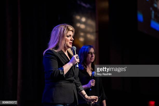 Melissa Anelli attends BroadwayCon 2016 at the New York Hilton Midtown on January 24 2016 in New York City