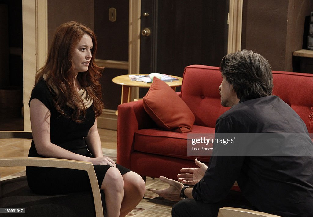 LIVE - Melissa Archer (Natalie) and Michael Easton (John) in a scene that airs the week of January 9, 2012 on ABC Daytime's 'One Life to Live.' 'One Life to Live' airs Monday-Friday (2:00 p.m. - 3:00 p.m., ET) on the ABC Television Network. EASTON