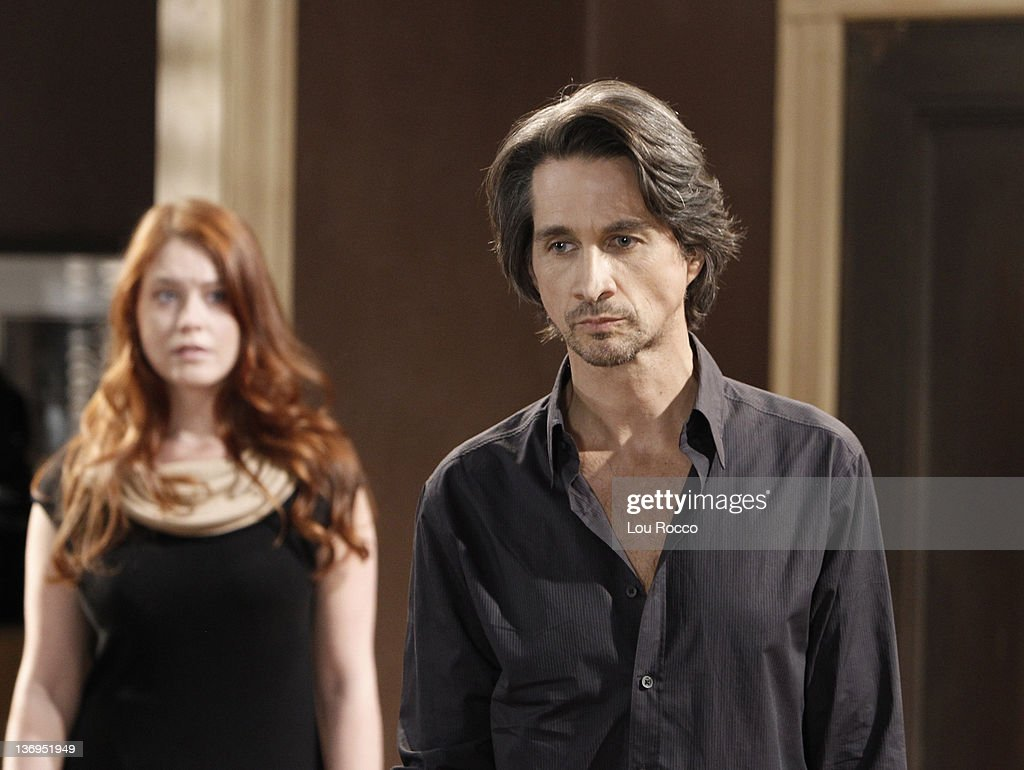 LIVE - Melissa Archer (Natalie) and Michael Easton (John) in a scene that airs the week of January 9, 2012 on ABC Daytime's 'One Life to Live.' 'One Life to Live' airs Monday-Friday (2:00 p.m. - 3:00 p.m., ET) on the ABC Television Network. MELISSA