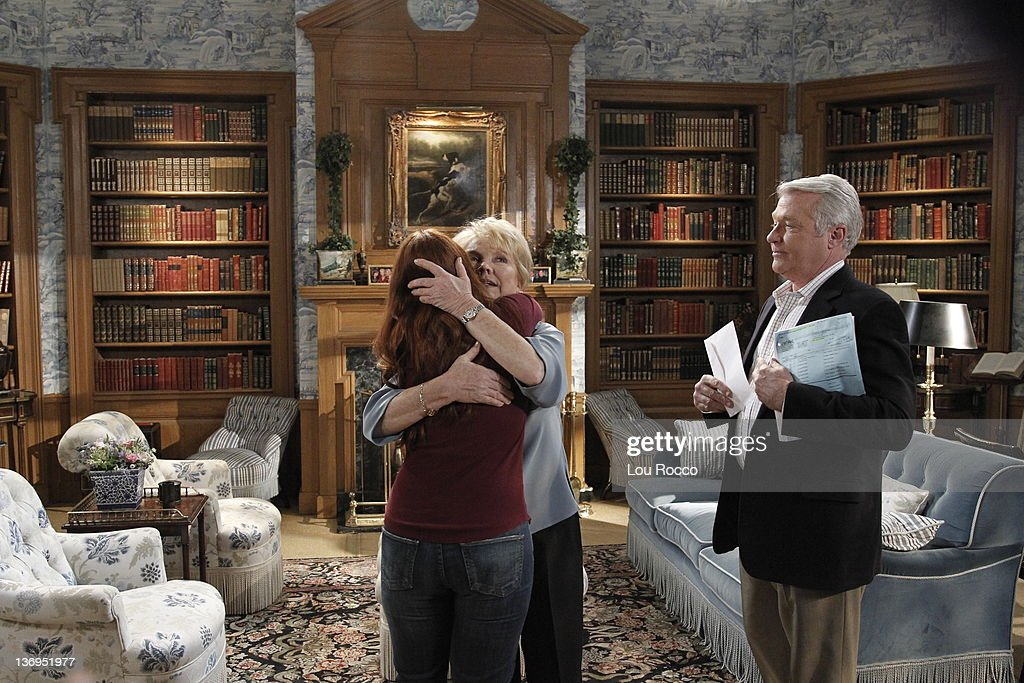 LIVE - Melissa Archer (Natalie), Erika Slezak (Viki) and Jerry verDorn (Clint) in a scene that airs the week of January 9, 2012 on ABC Daytime's 'One Life to Live.' 'One Life to Live' airs Monday-Friday (2:00 p.m. - 3:00 p.m., ET) on the ABC Television Network. VERDORN