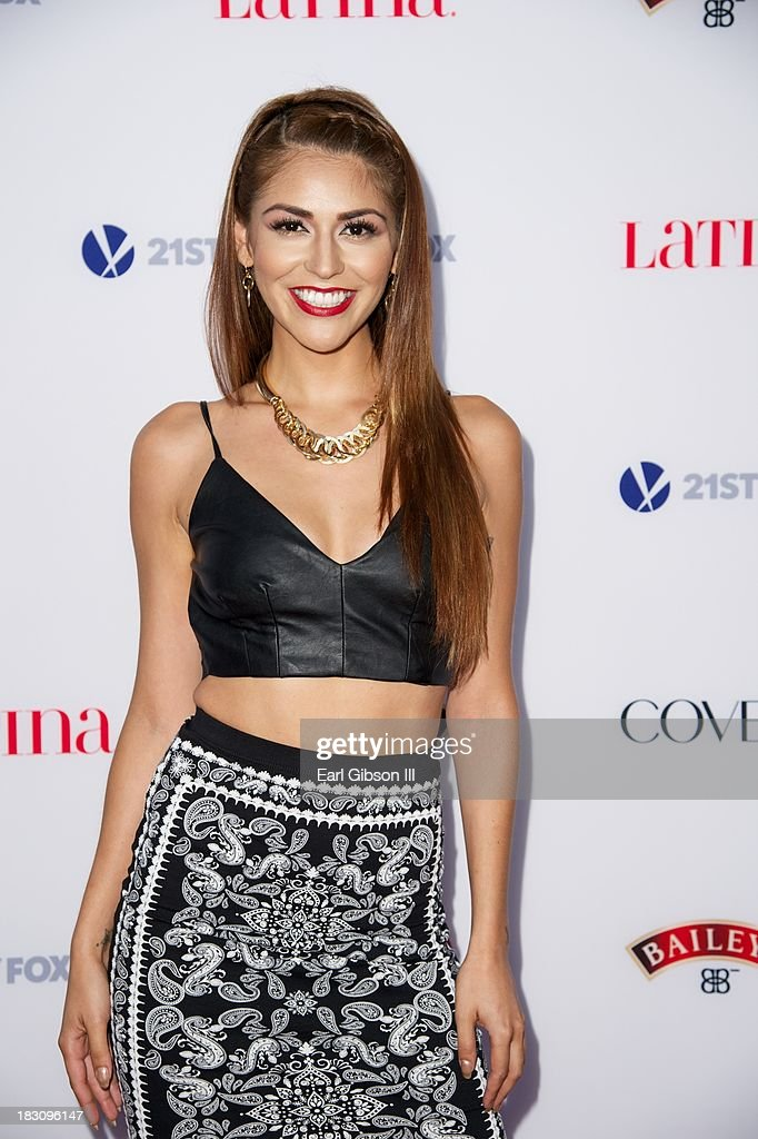 Melissa Barrera attends the Latina Magazine 'Hollywood Hot List' Party at The Redbury Hotel on October 3, 2013 in Hollywood, California.