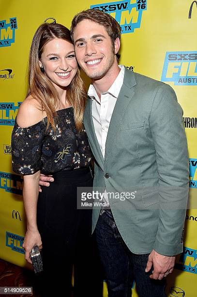 Melissa Benoist and actor Blake Jenner attend the screening of 'Everybody Wants Some' during the 2016 SXSW Music Film Interactive Festival at...