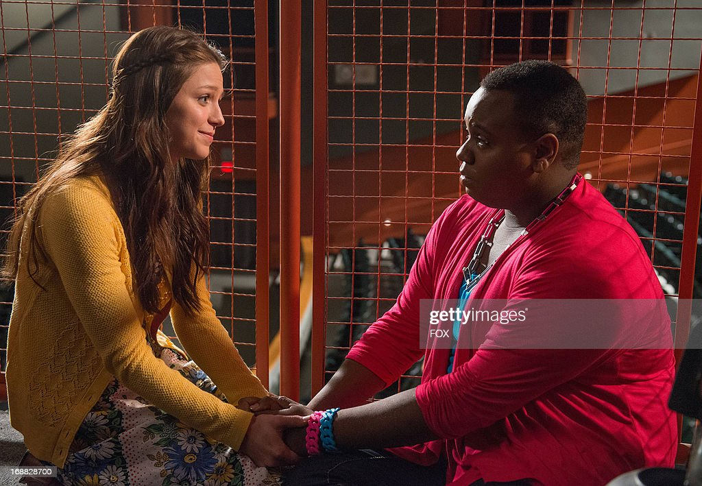 Melissa Benoist and Alex Newell star in the 'All or Nothing' episode of GLEE airing Thursday, May 9, 2013 (9:00-10:00 PM ET/PT) on FOX.