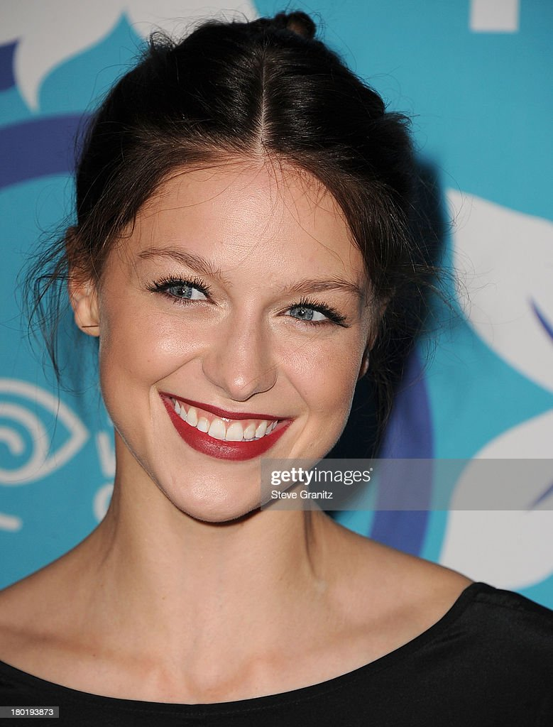Melissa Benoist arrives at the 2013 Fox Fall Eco-Casino Party at The Bungalow on September 9, 2013 in Santa Monica, California.