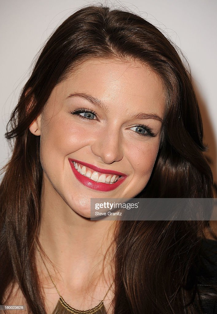 Melissa Benoist arrives at the ELLE's 2nd Annual Women In Television Celebratory Dinner at Soho House on January 24, 2013 in West Hollywood, California.