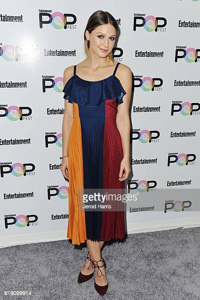 Melissa Benoist attends Entertainment Weekly's Popfest at The Reef on October 29 2016 in Los Angeles California