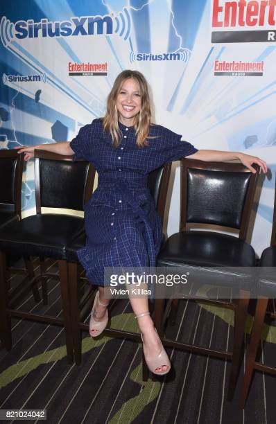 Melissa Benoist attends SiriusXM's Entertainment Weekly Radio Channel Broadcasts From Comic Con 2017 at Hard Rock Hotel San Diego on July 22 2017 in...
