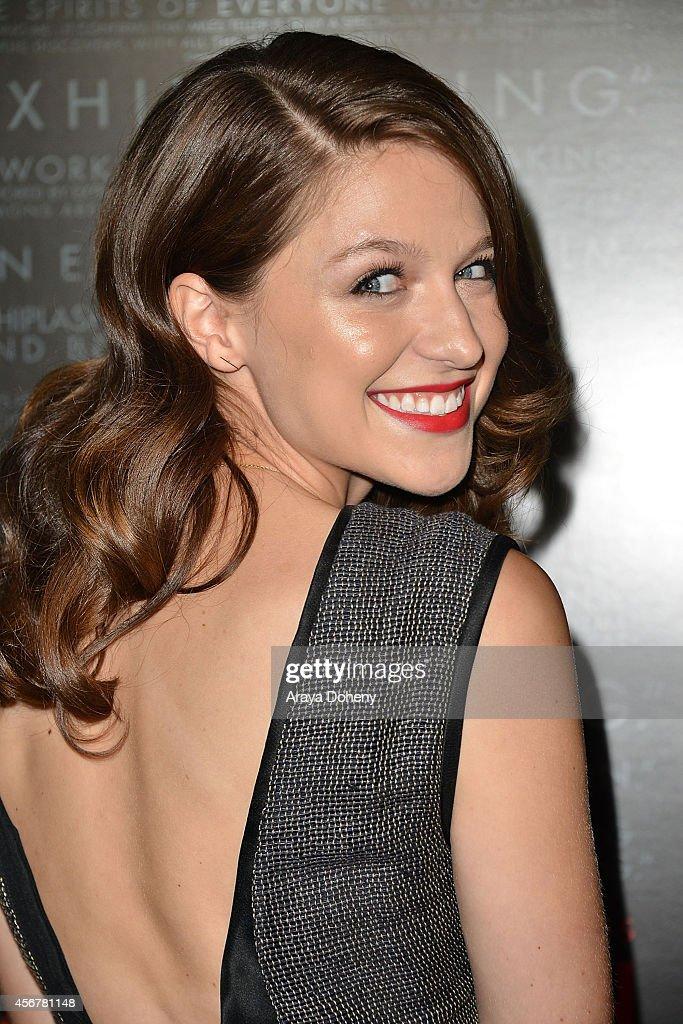 Melissa Benoist neck