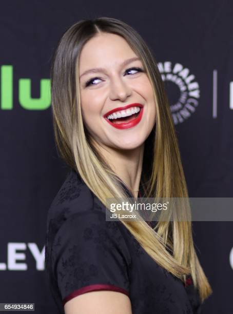 Melissa Benoist attends the Paley Center For Media's 34th Annual PaleyFest Los Angeles The CW on March 18 2017 in Hollywood California