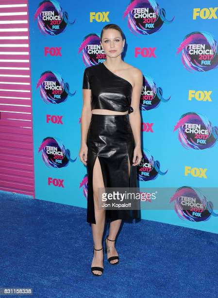 Melissa Benoist attends the Teen Choice Awards 2017 at Galen Center on August 13 2017 in Los Angeles California