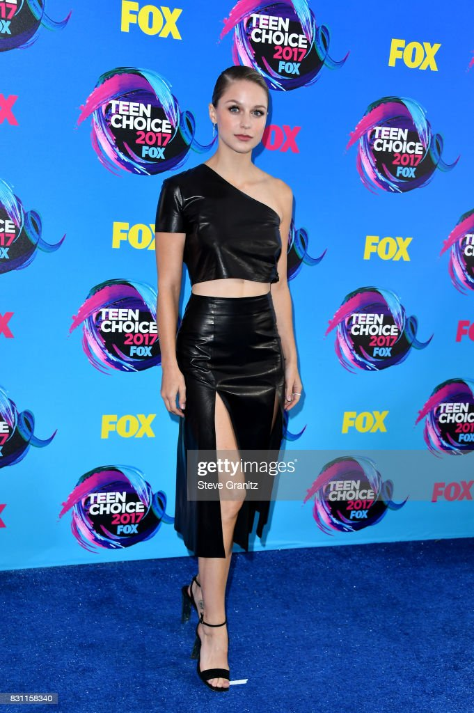 Melissa Benoist attends the Teen Choice Awards 2017 at Galen Center on August 13, 2017 in Los Angeles, California.