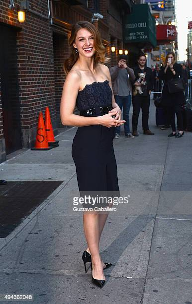 Melissa Benoist is sigthed on October 26 2015 in New York City