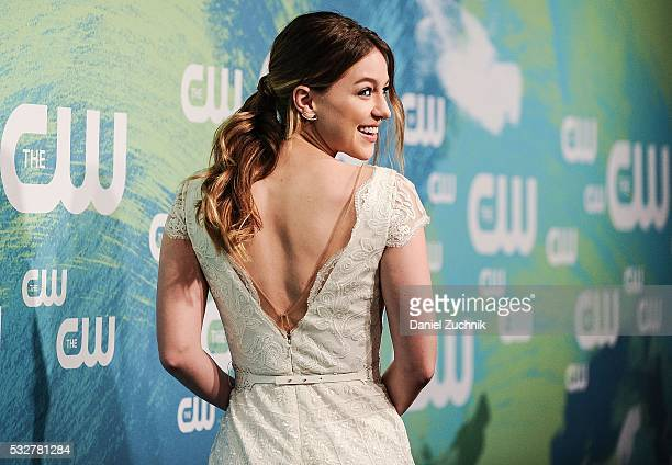 Melissa Benoist of the series 'Supergirl' attends the The CW Network's 2016 New York Upfront at The London Hotel on May 19 2016 in New York City