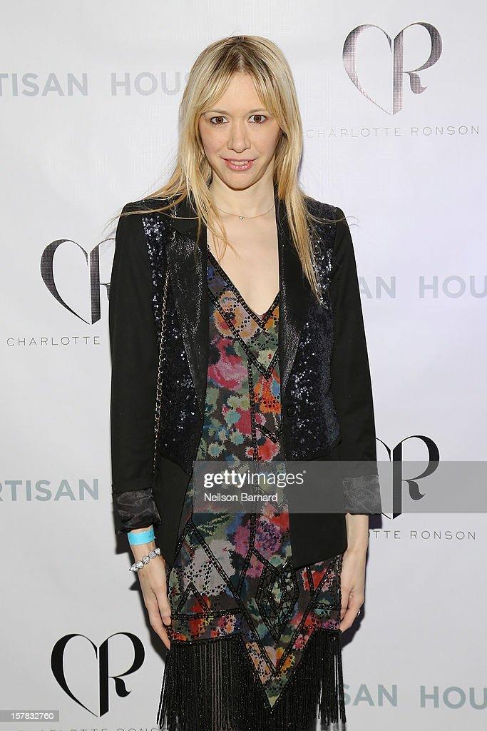 Melissa Berkelhammer attends the Charlotte Ronson + Artisan House Host Spring/Summer 2013 Handbag Preview on December 6, 2012 in New York City.
