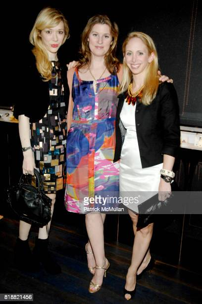 Melissa Berkelhammer Kelly Mallon and Lara Glazier attend MAUBOUSSIN Hosts CENTRAL PARK CONSERVANCY'S Jewels In Bloom at Mauboussin on April 12 2010...