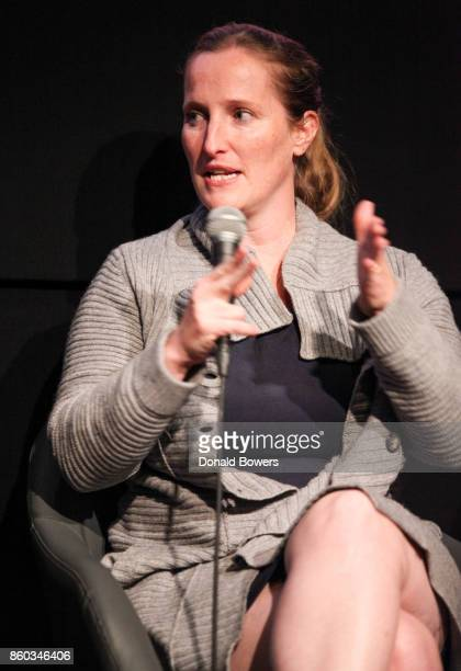 Melissa Bernstein attends The 'Halt And Catch Fire' Screening And Panel at IFC Center on October 11 2017 in New York City